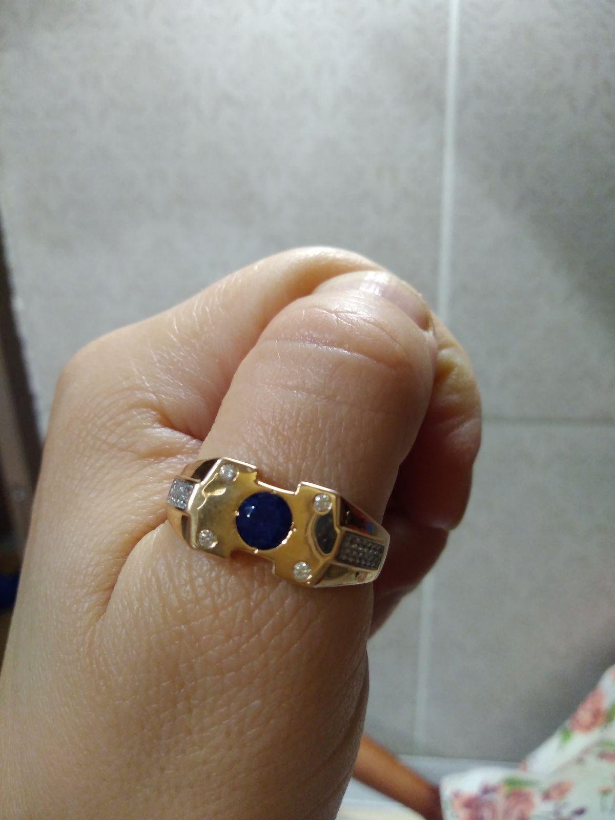 Красивая печетка-кольцо