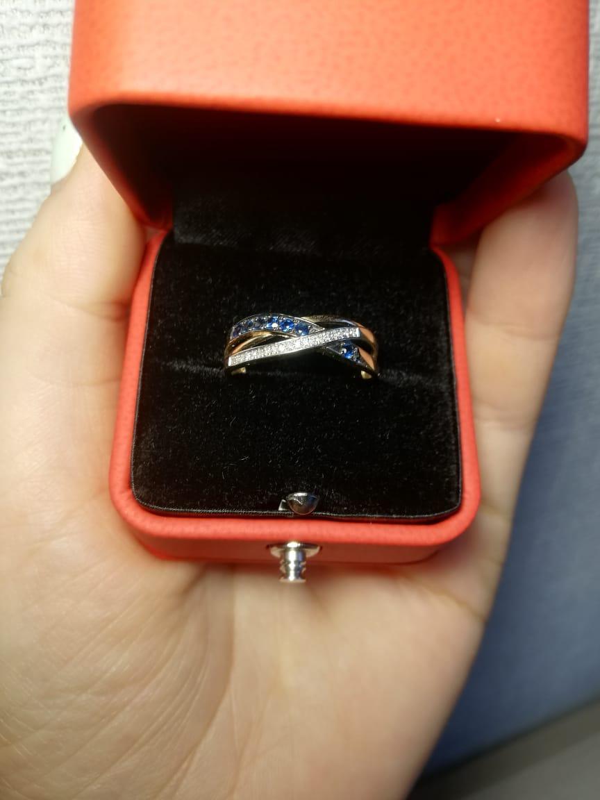 Кольцо в подарок от мужа