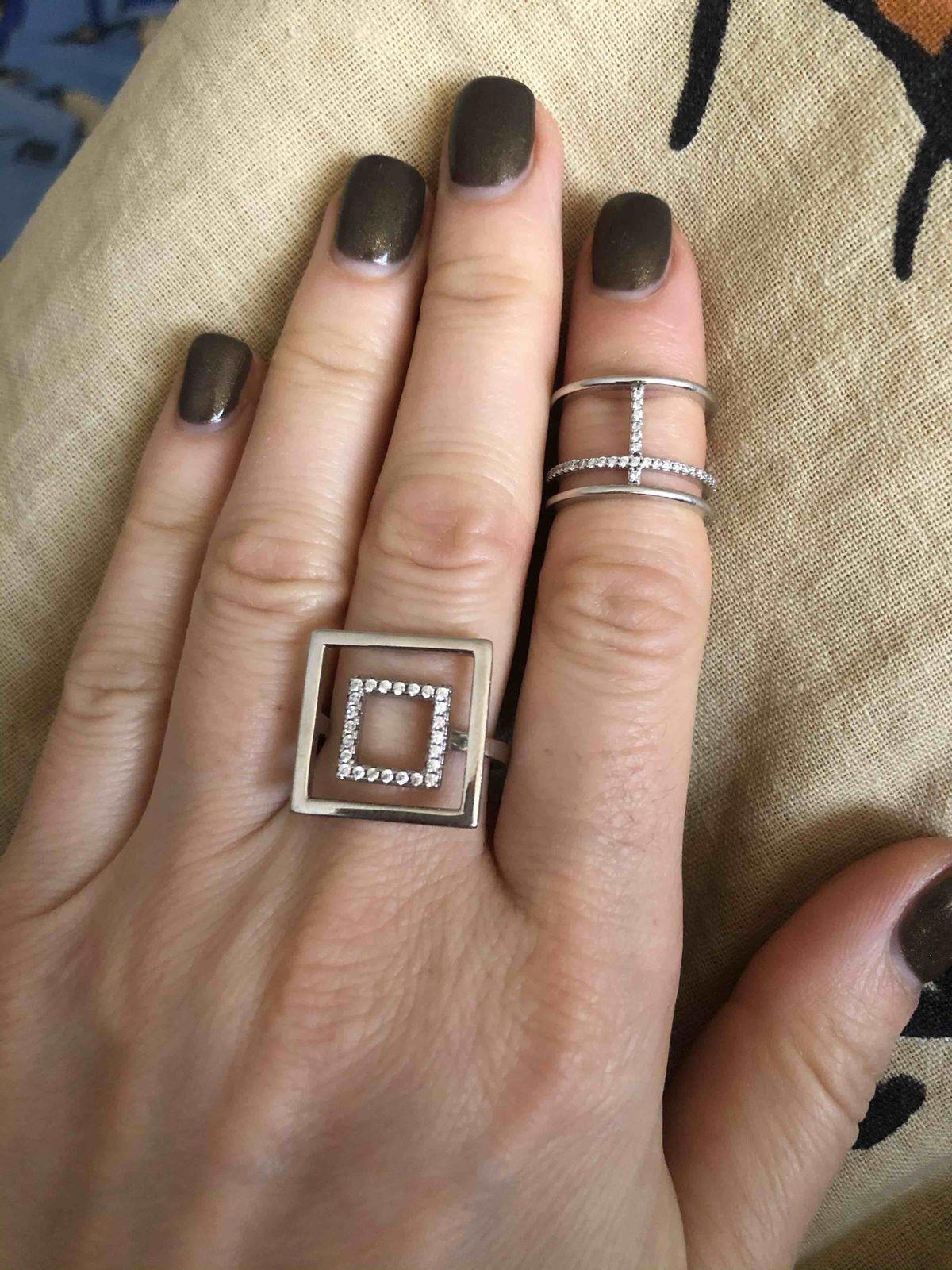 Стильное, красивое кольцо