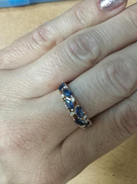 Отзыв на кольцо в комплект к сережкам