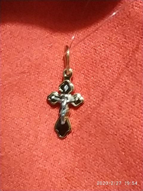 Крестик православный для ребенка