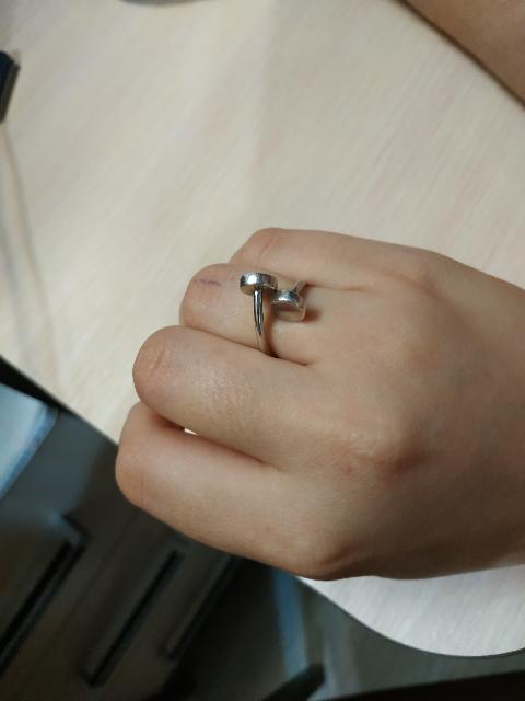 Крутое кольцо! Мне очень понравилось!
