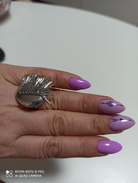 Итальянское серебрянное кольцо.