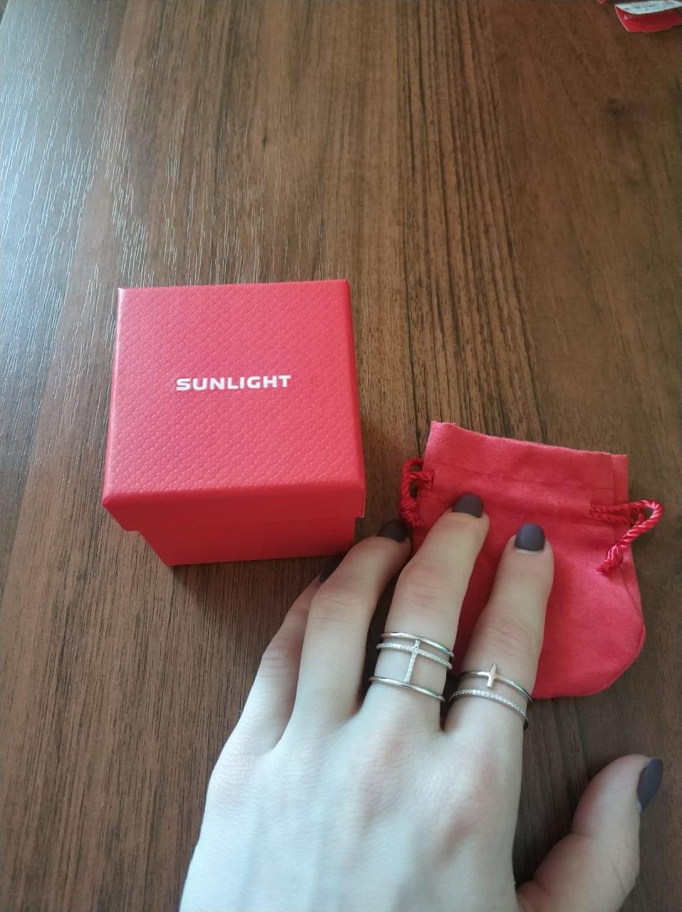 Кольцо очень красиво смотрится