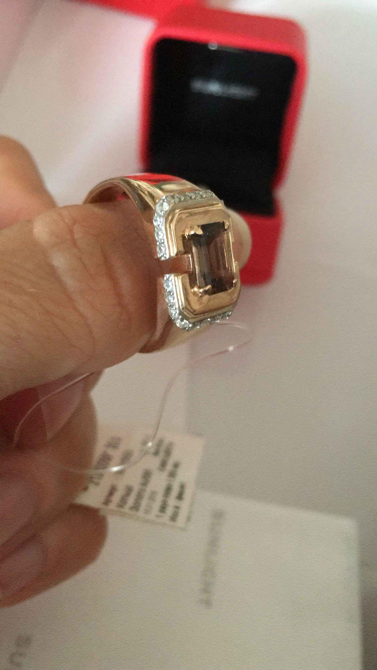 Шикарое мужское кольцо