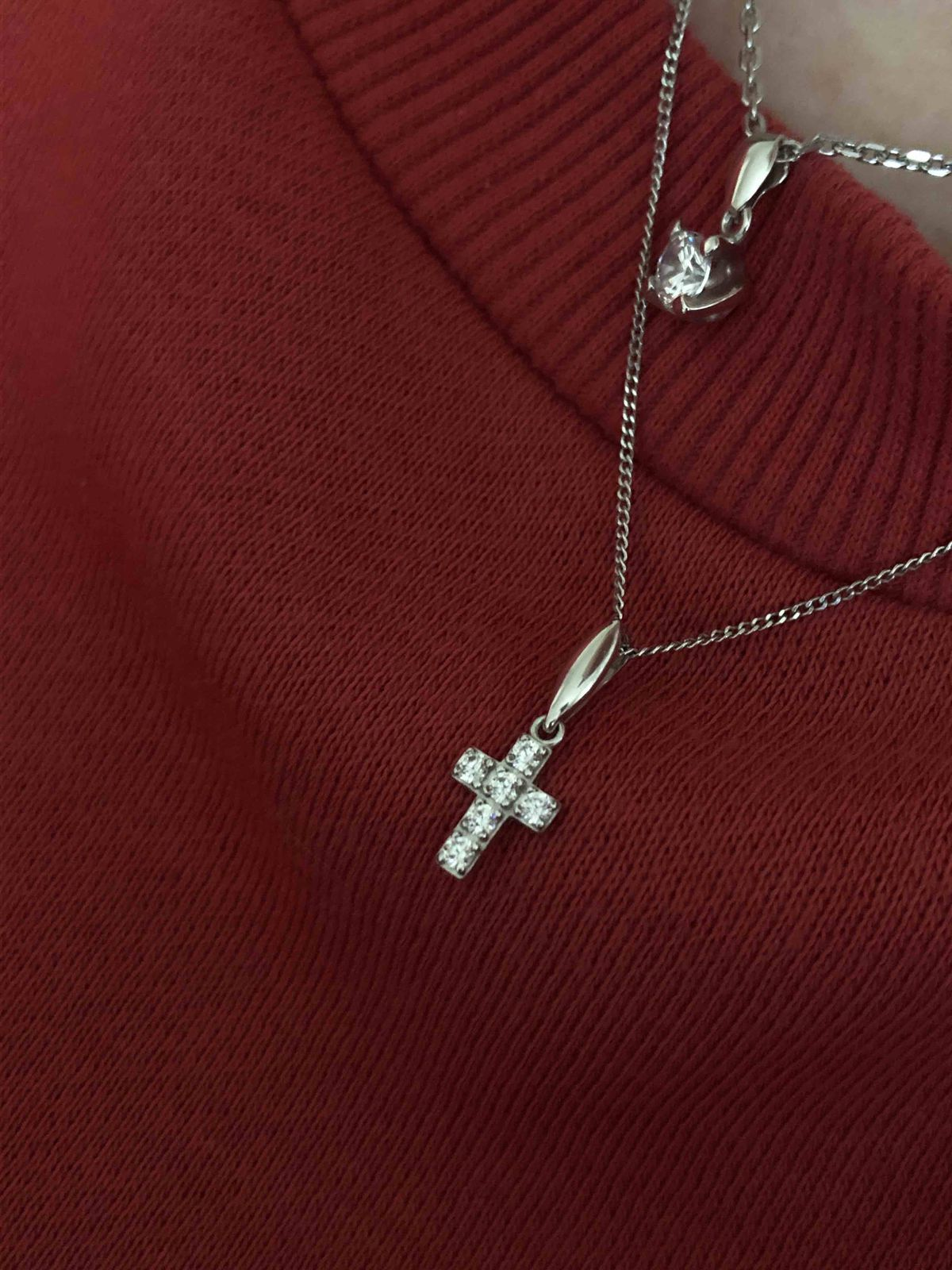 Очень красивый крестик!