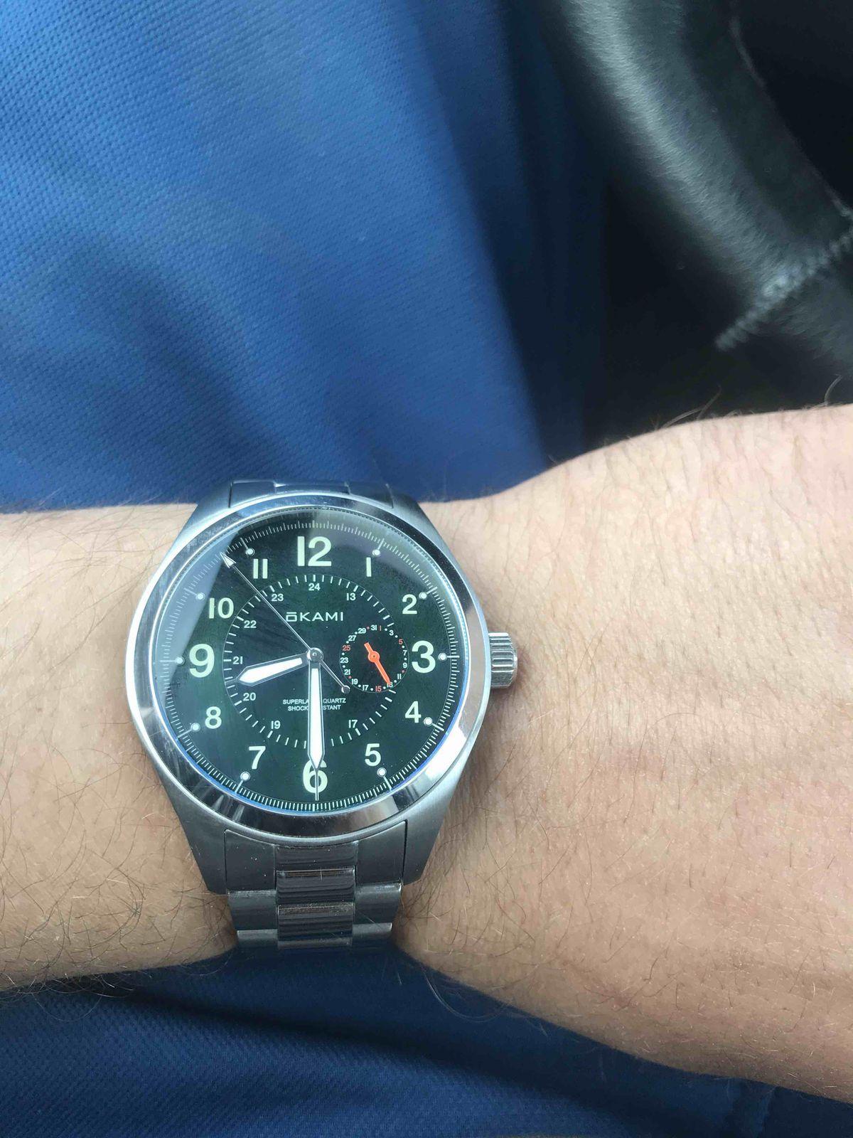 Часы отличные, респект