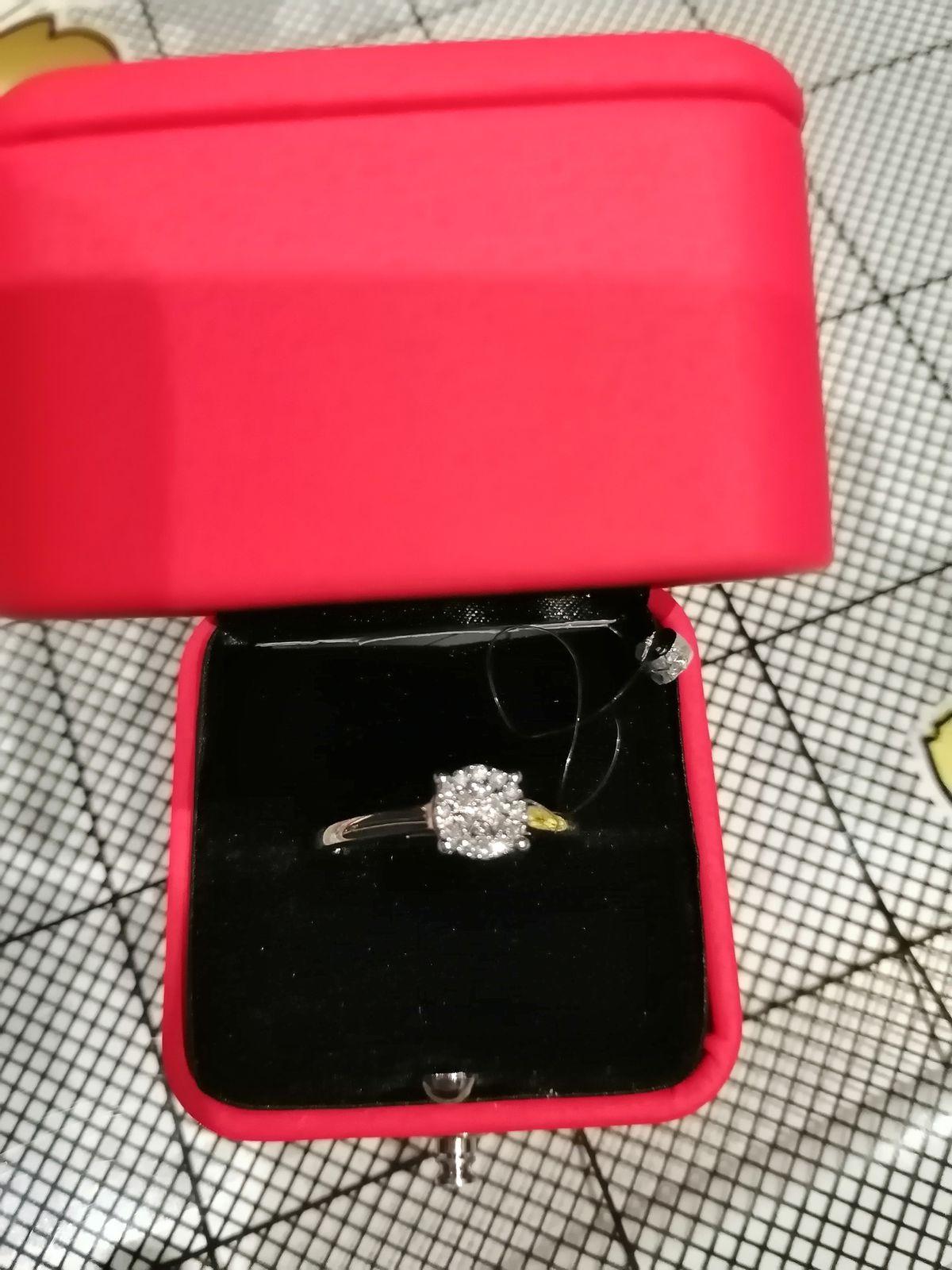 Кольцо с бртлиантами