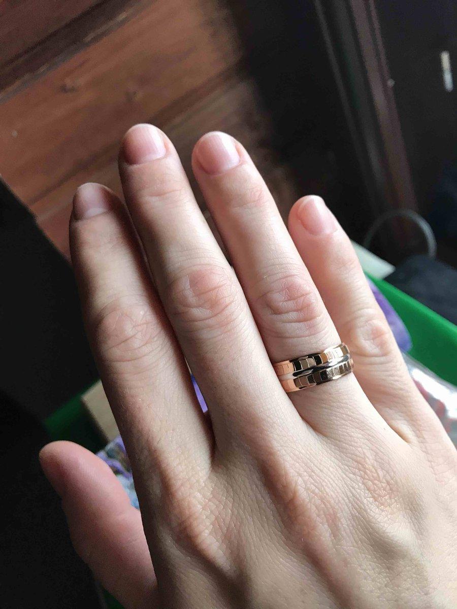 Самое красивое обручальное кольцо