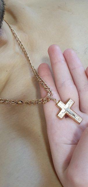 Красивая, а самое главное качественная и прочная золотая цепочка