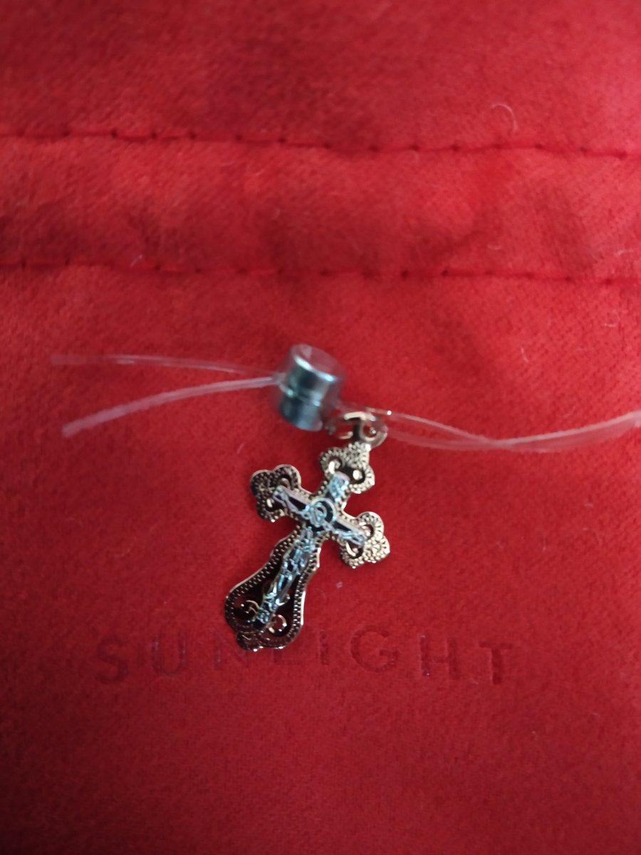 Золотой крестик для ребёнка