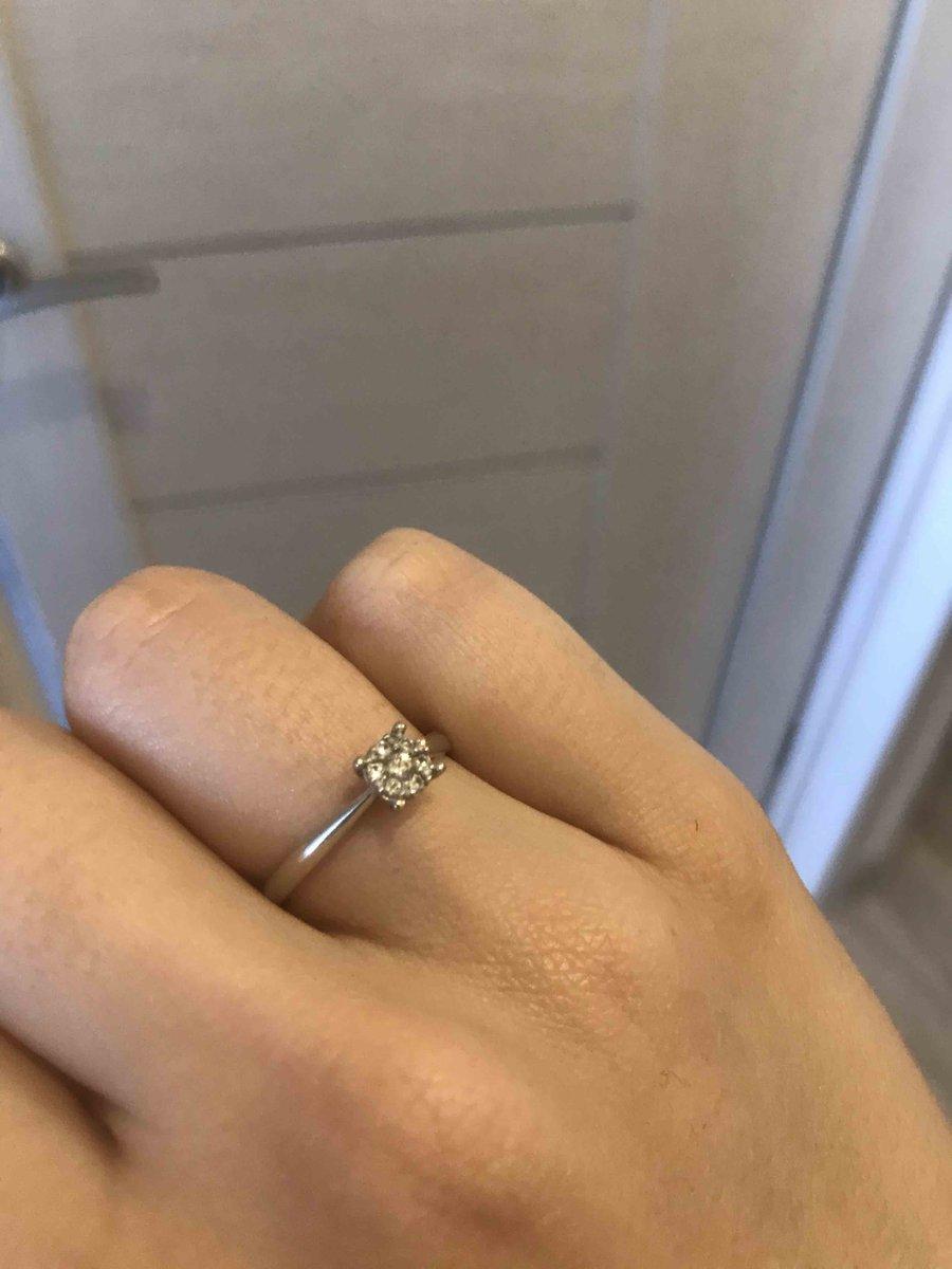 Самое прекрасное кольцо на помолвку!😍😍😍😍❤️❤️❤️❤️