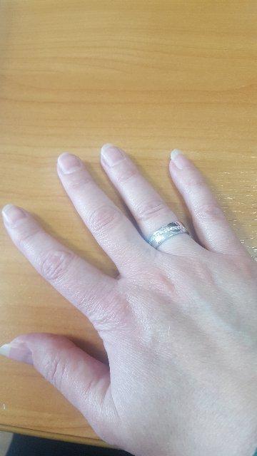 Мой заказ серебренное кольцо.