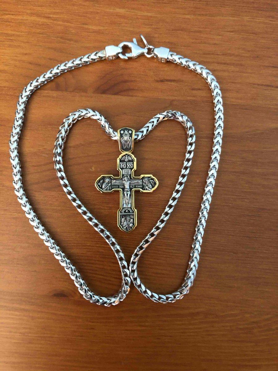 Крестик серебрянный