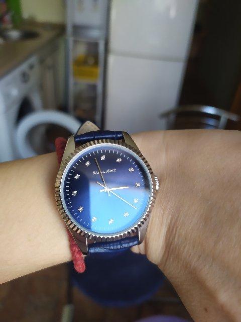 Давно хотела часы с синим циферблатом!