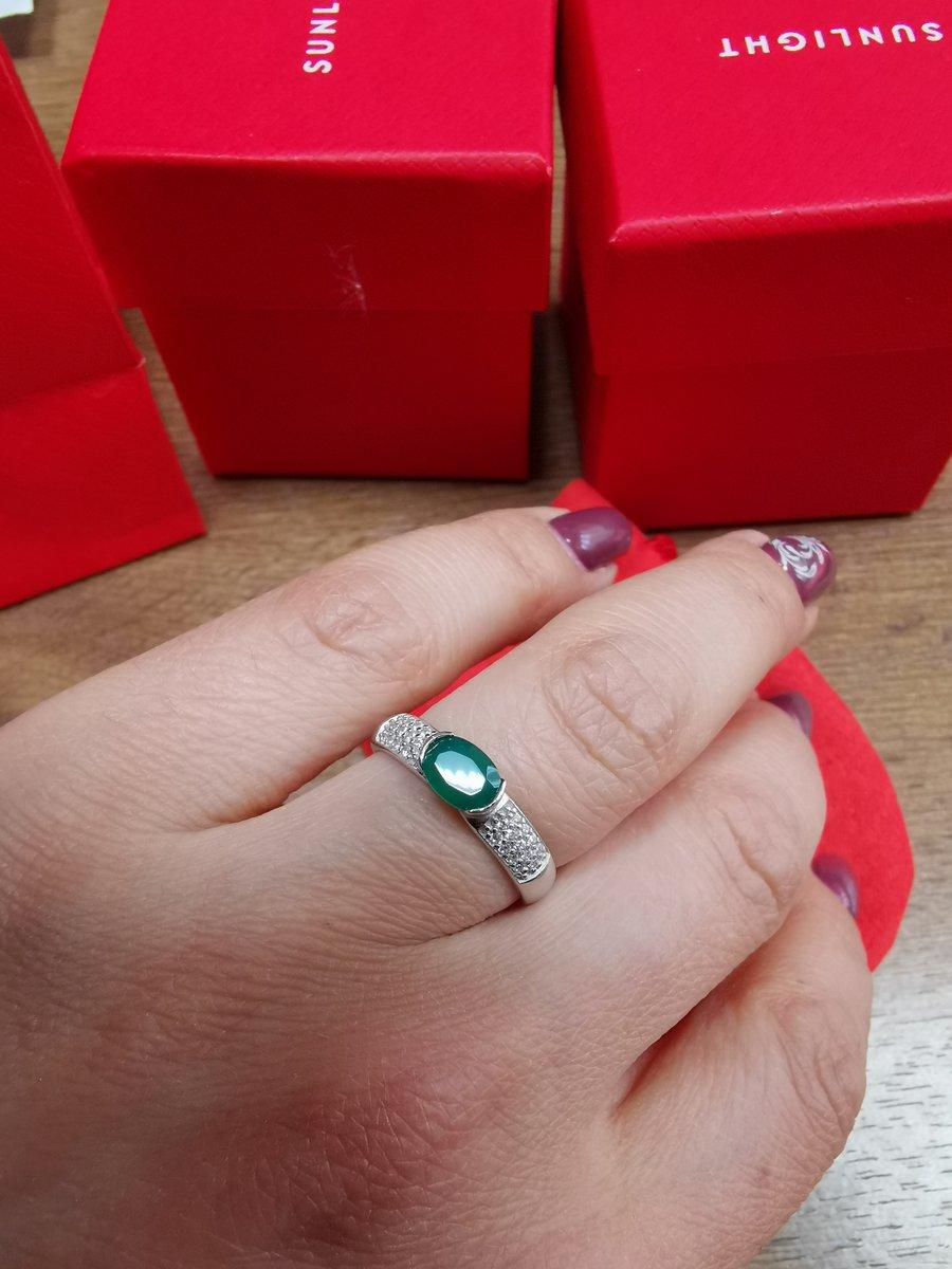 Серьги и кольцо с агатом