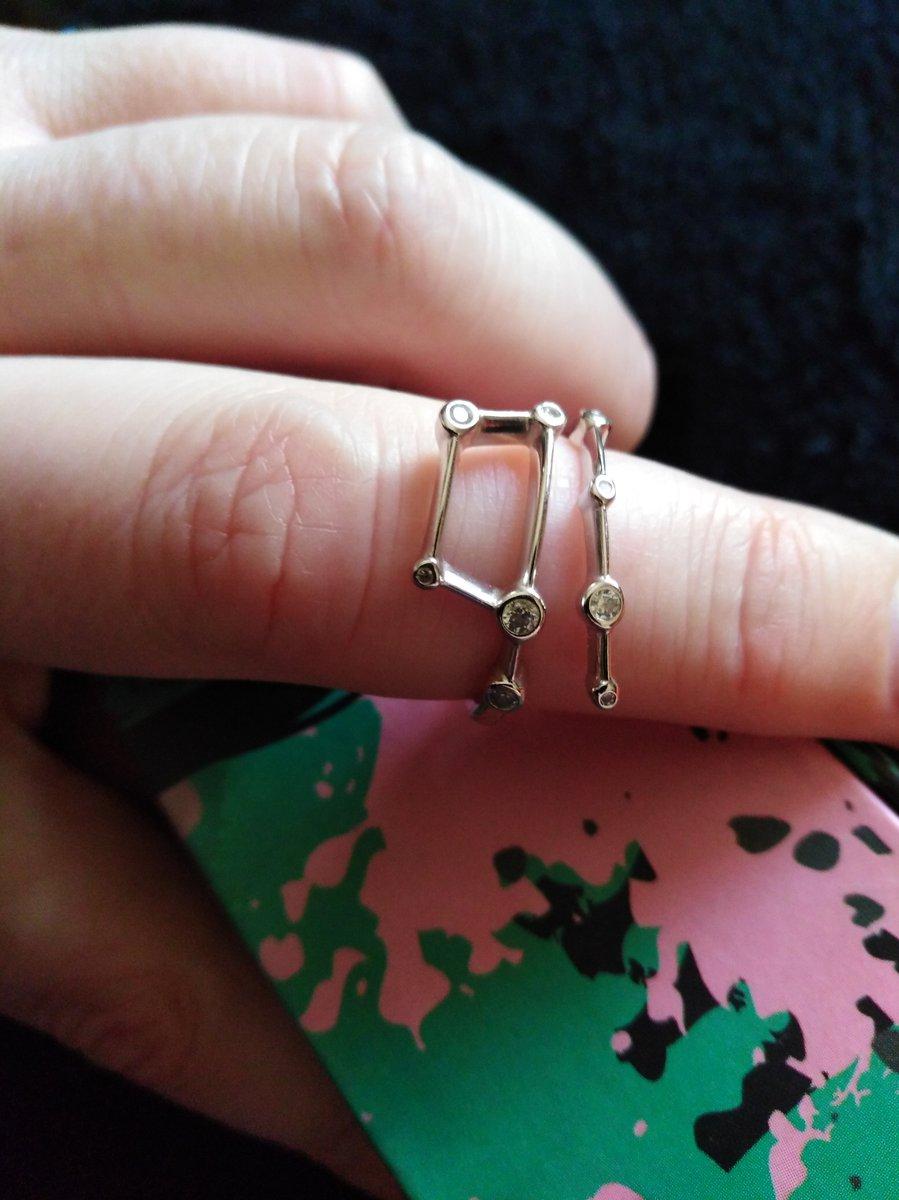 Кольцо в комплекте с серьгами