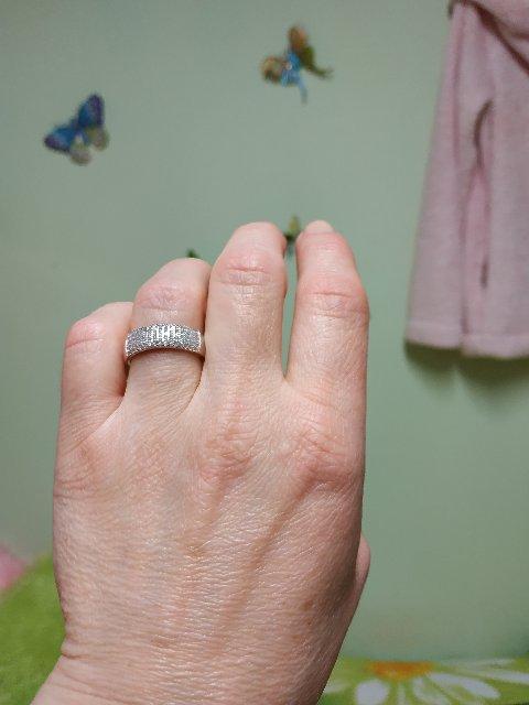 Кольцо фантастической красоты.