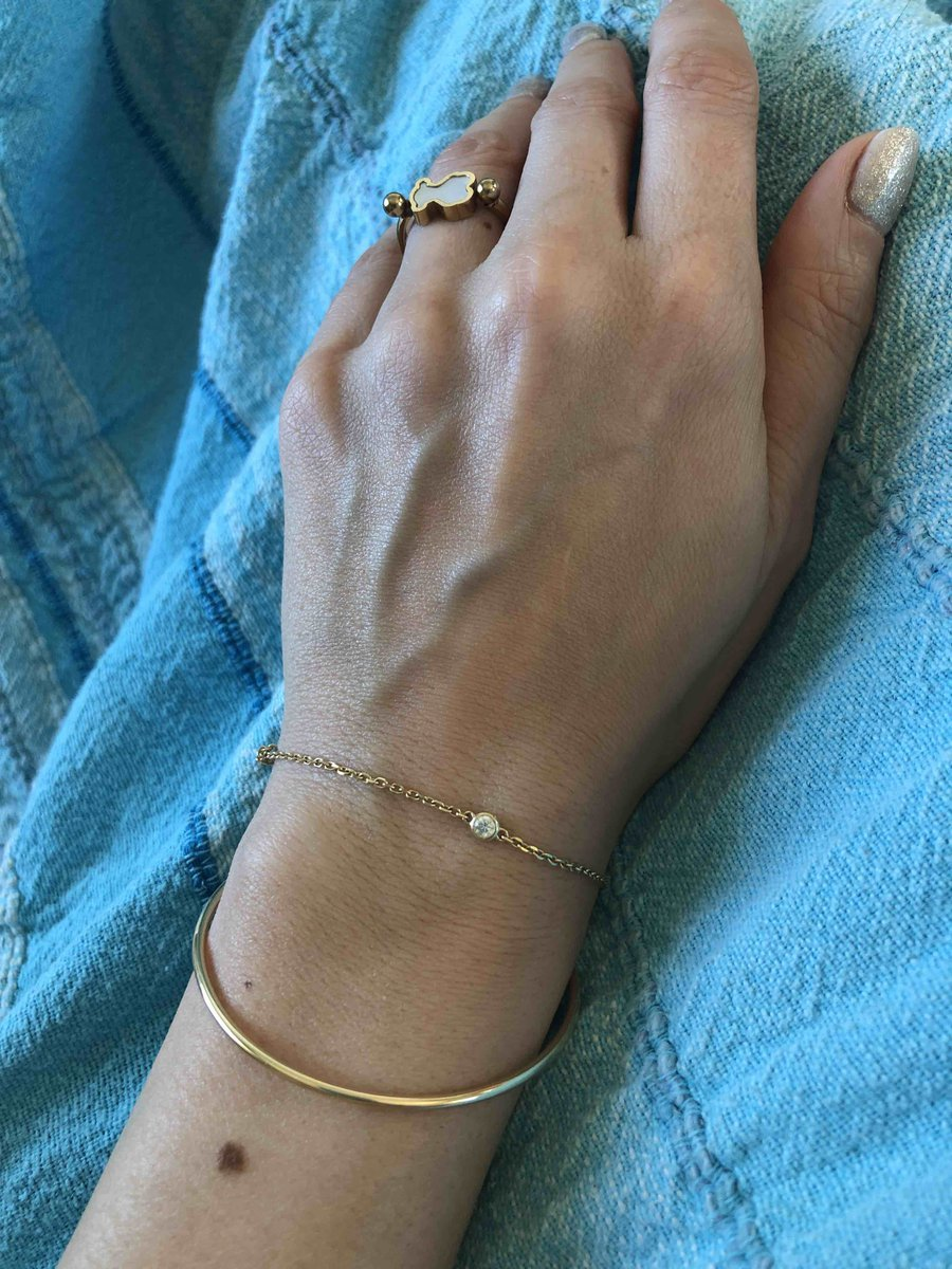 Прекрасный браслет из желтого золота.