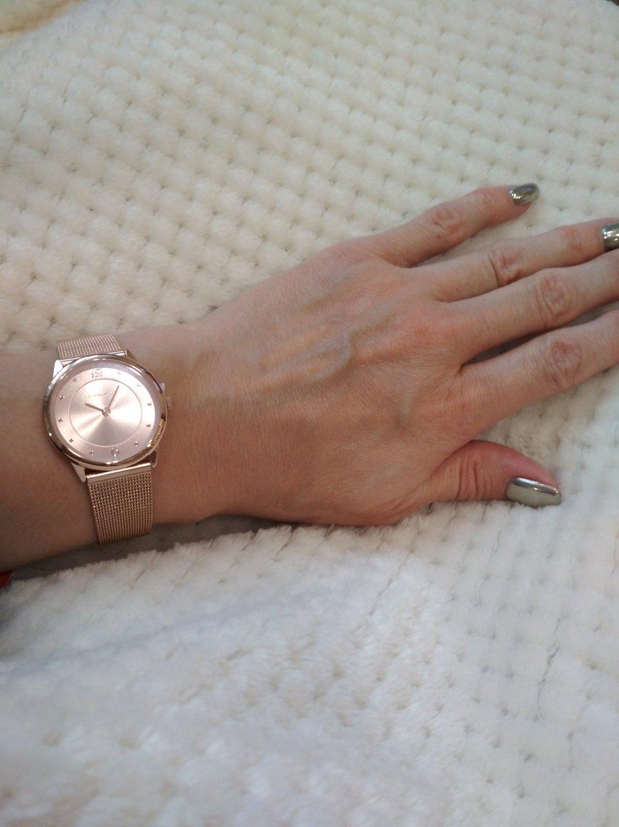 ♥️ЧАСЫ на миланском браслете (цвет розовое золото)