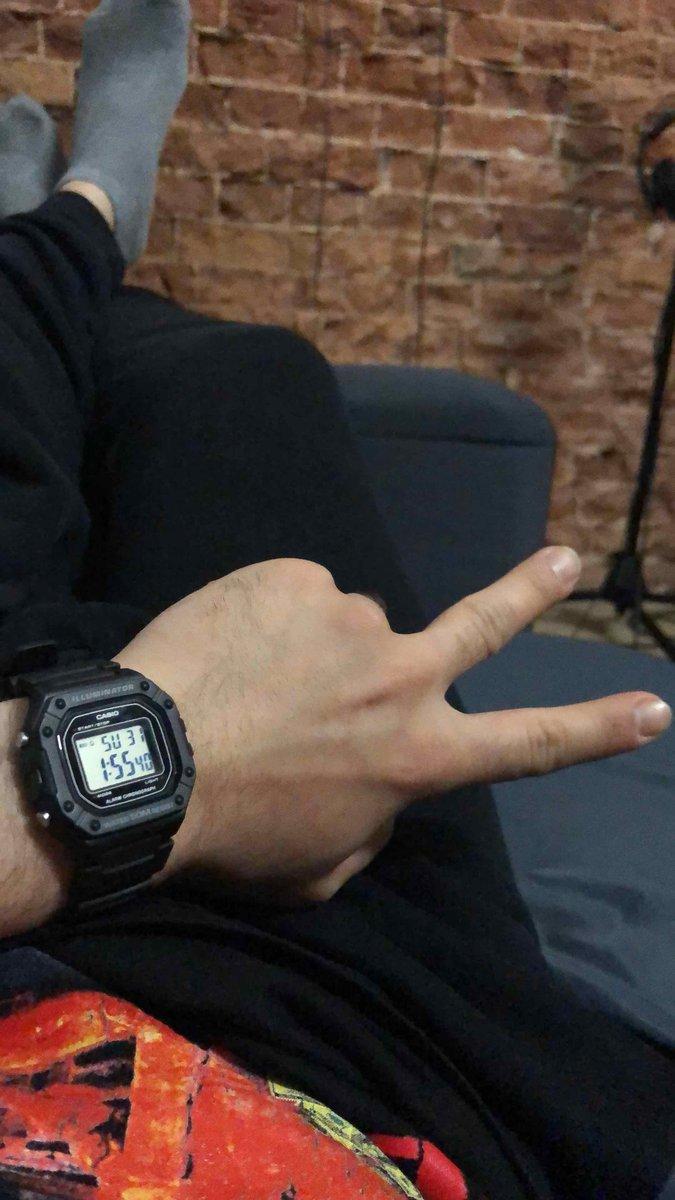 Заказал часы фирмы «casio»