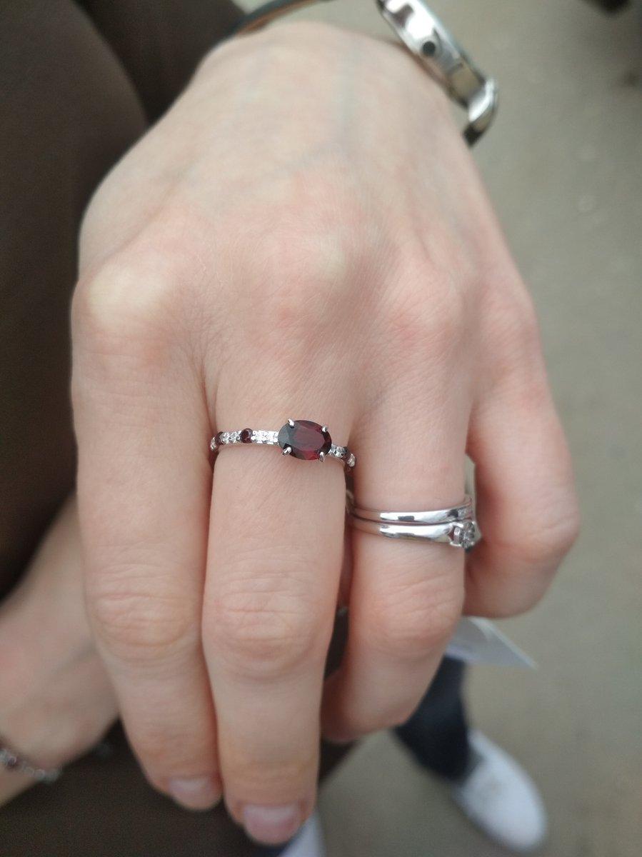 Колечко на тонкие пальчики
