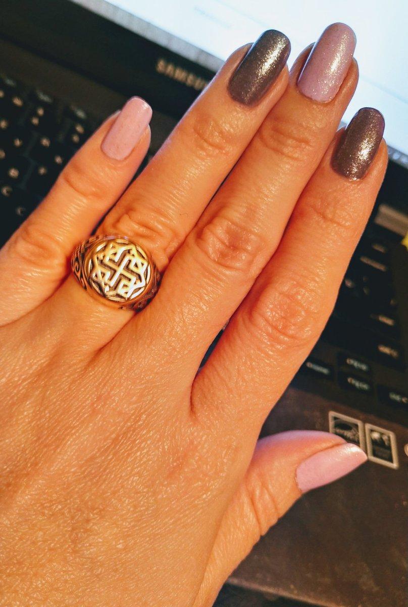 Кольцо - оберег Валькирия.