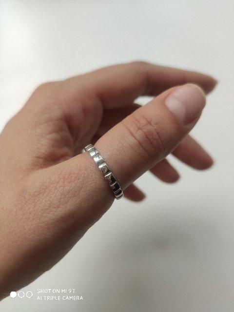 Супер кольцо. Отлично смотрится на руке.