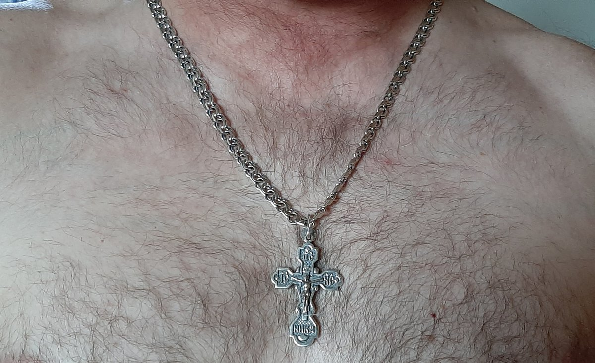 Крест очень мощный и красивый