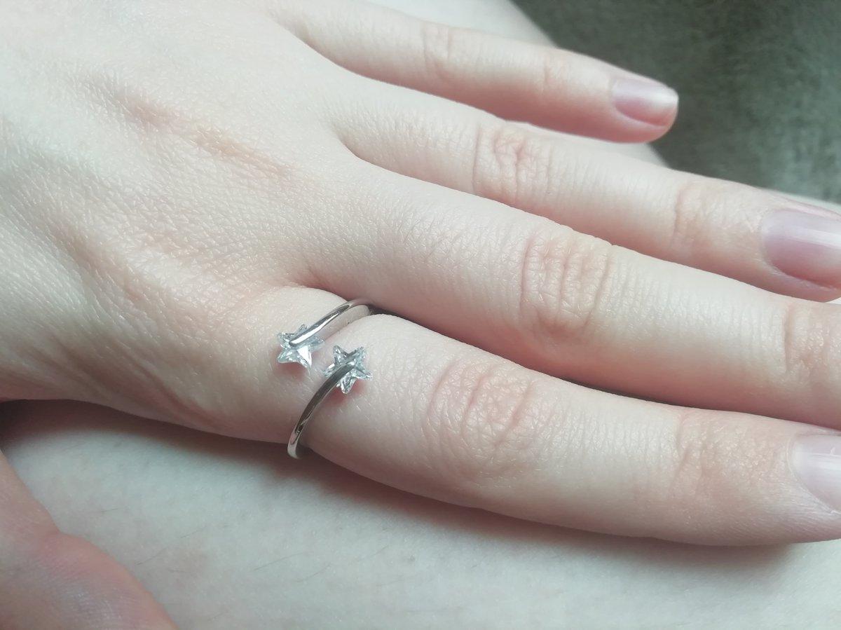 Кольцо с фианитными звездами - любовь с первого взгляда! ❤️