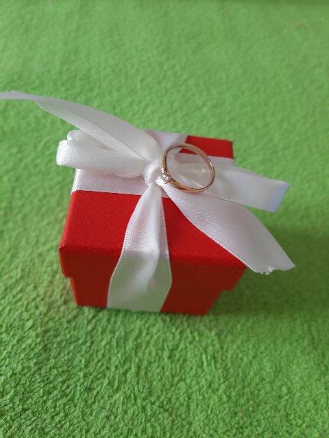 Заказала кольцо онлайн- заказом, переживала очень!