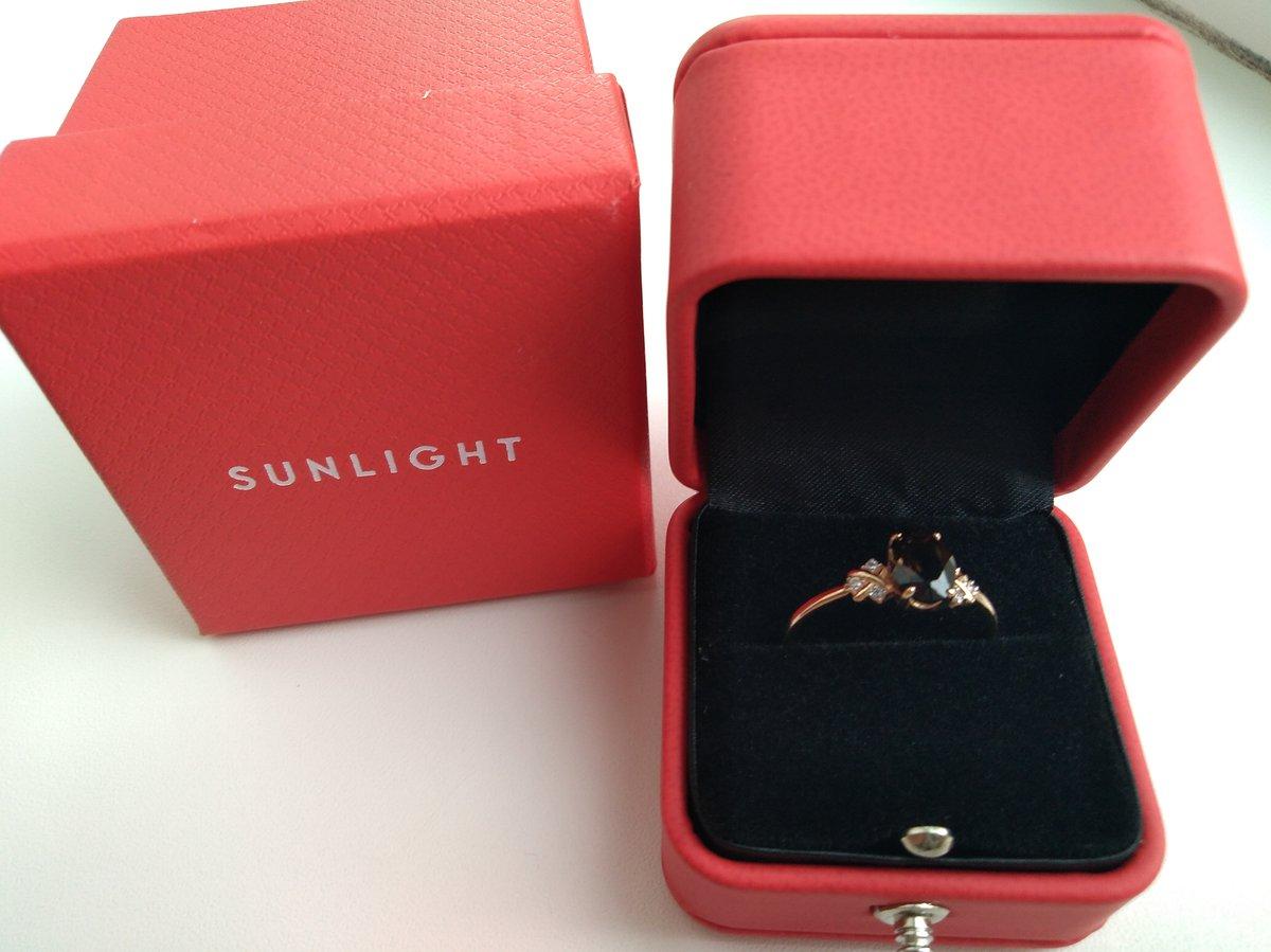 Золотое кольцо с фианитами и раухтопазом