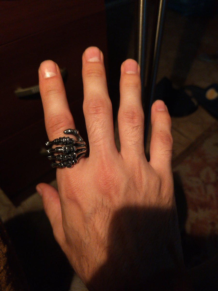 Спасибо за красивое кольцо