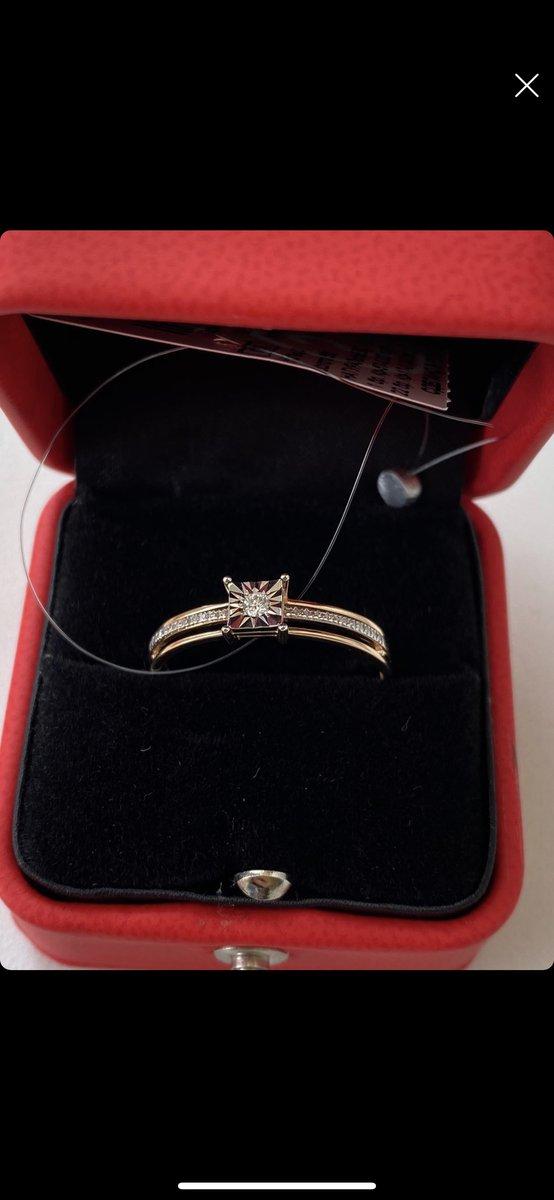 Кольцо с бриллтантом