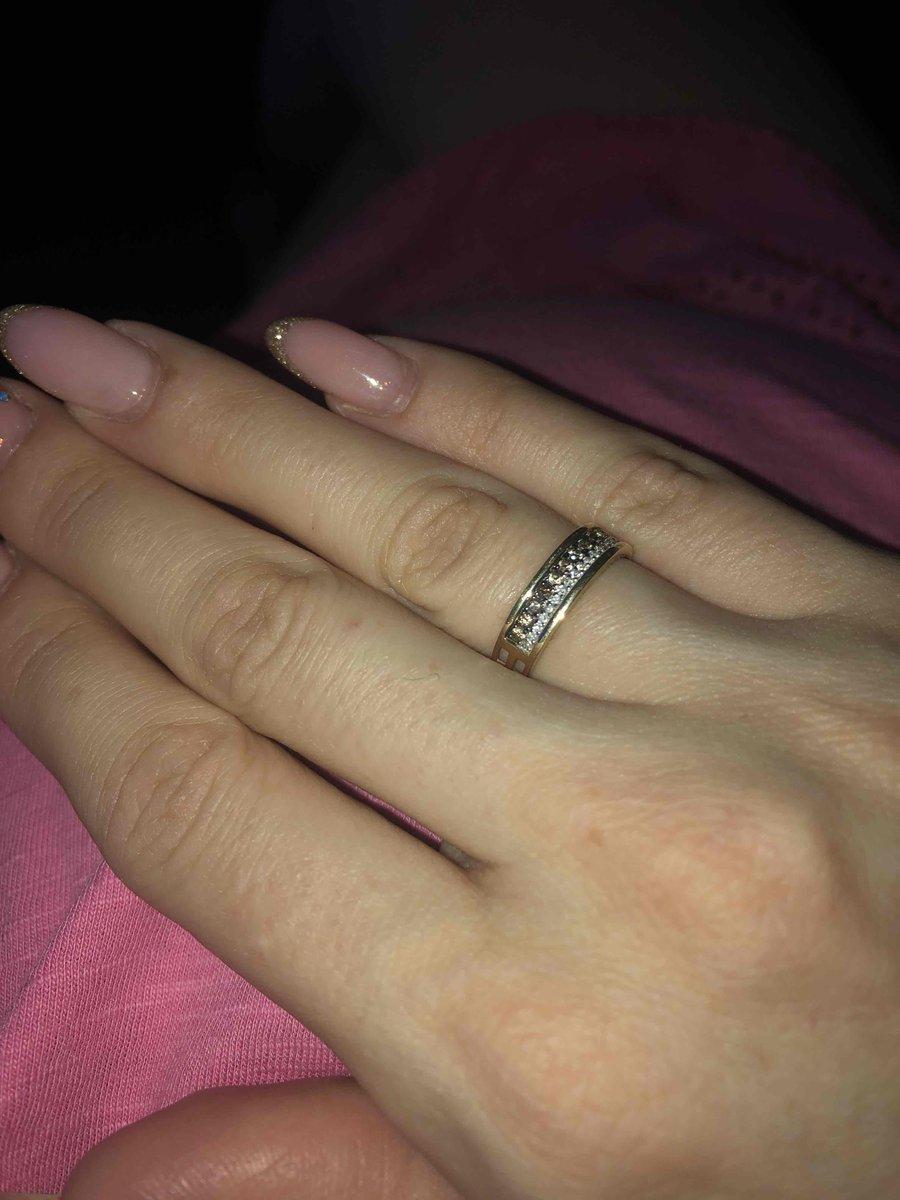Кольцо с шоколадным бриллиантом