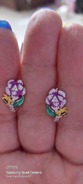 Серьги blom