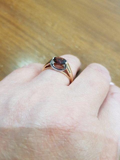 Вроде обычное кольцо