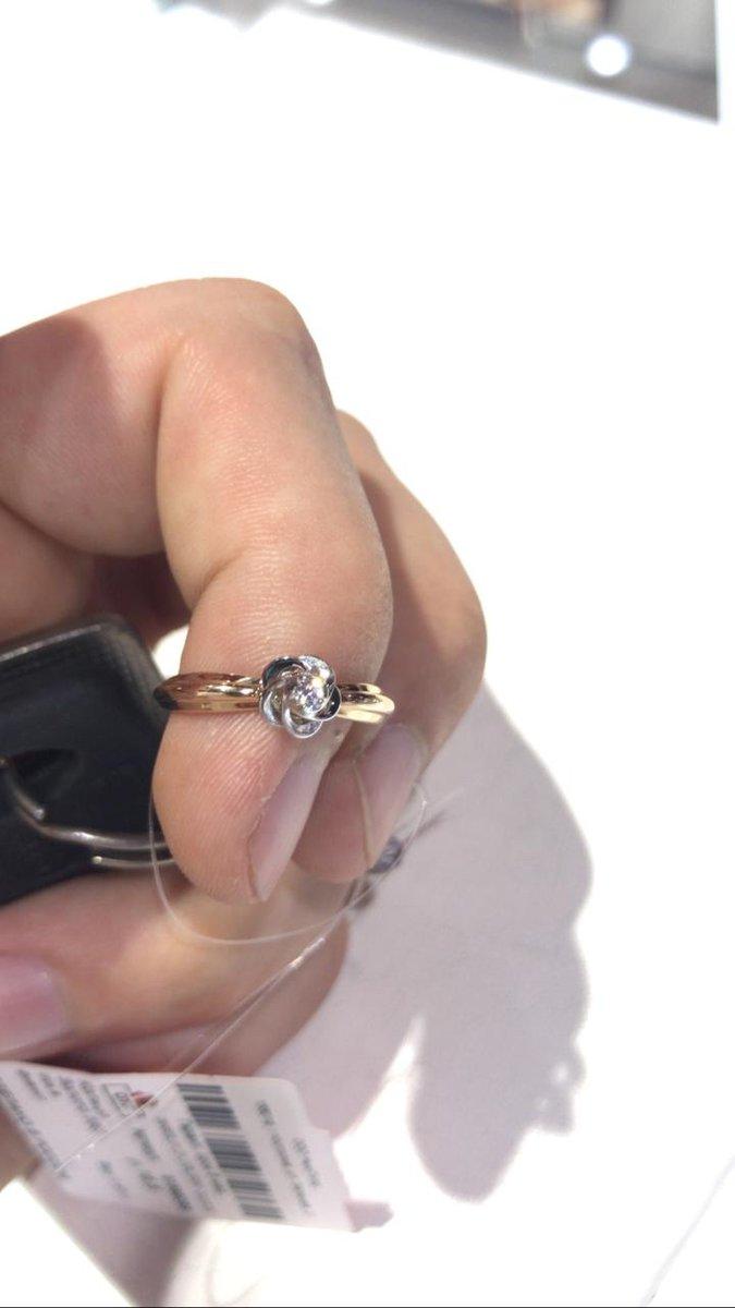 Кольцо в подаров