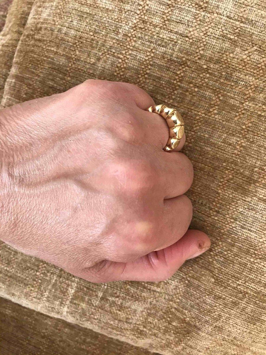 Кольцо к сережкам
