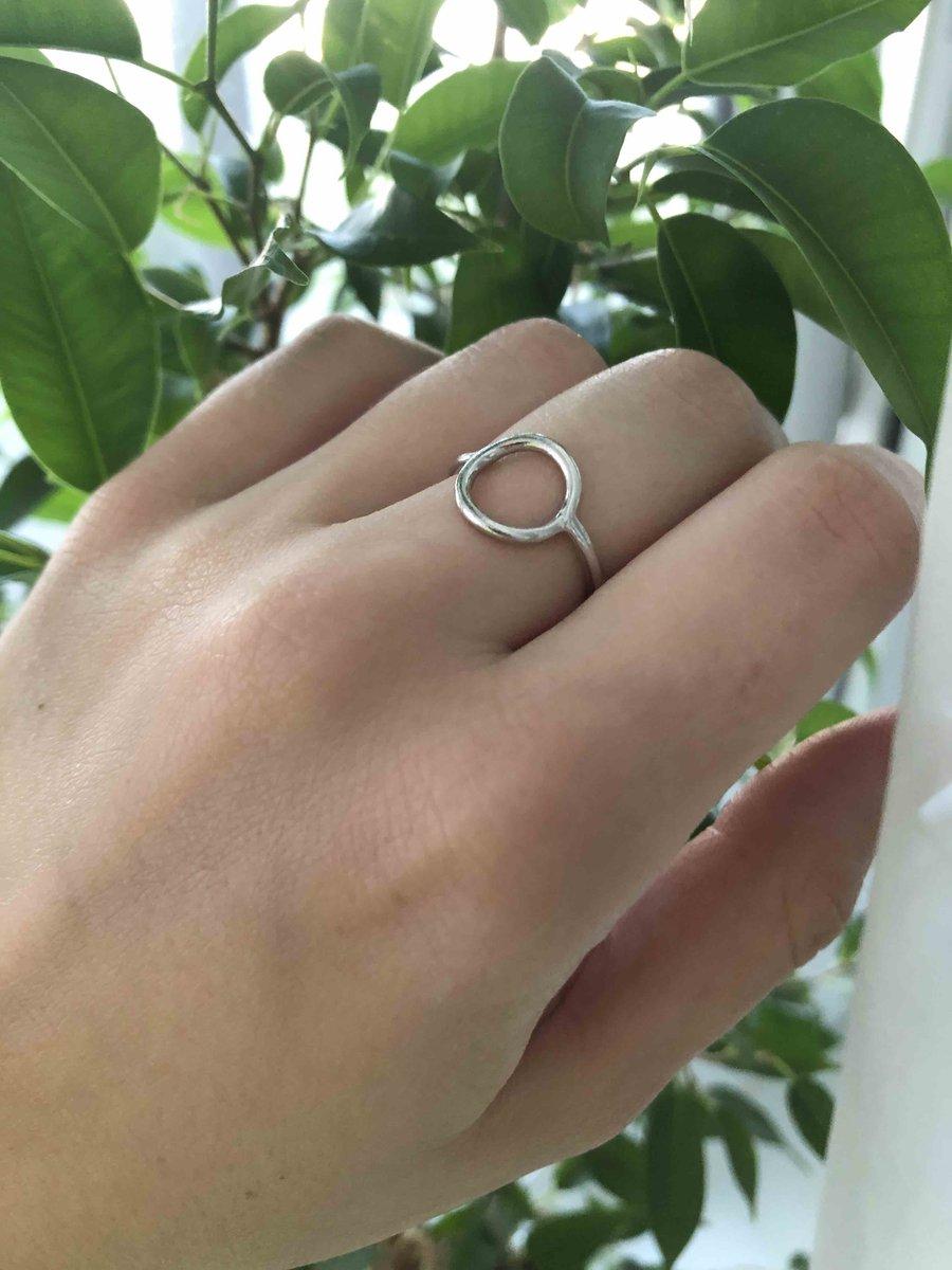 С первого взгляда кольцо стало любимым!