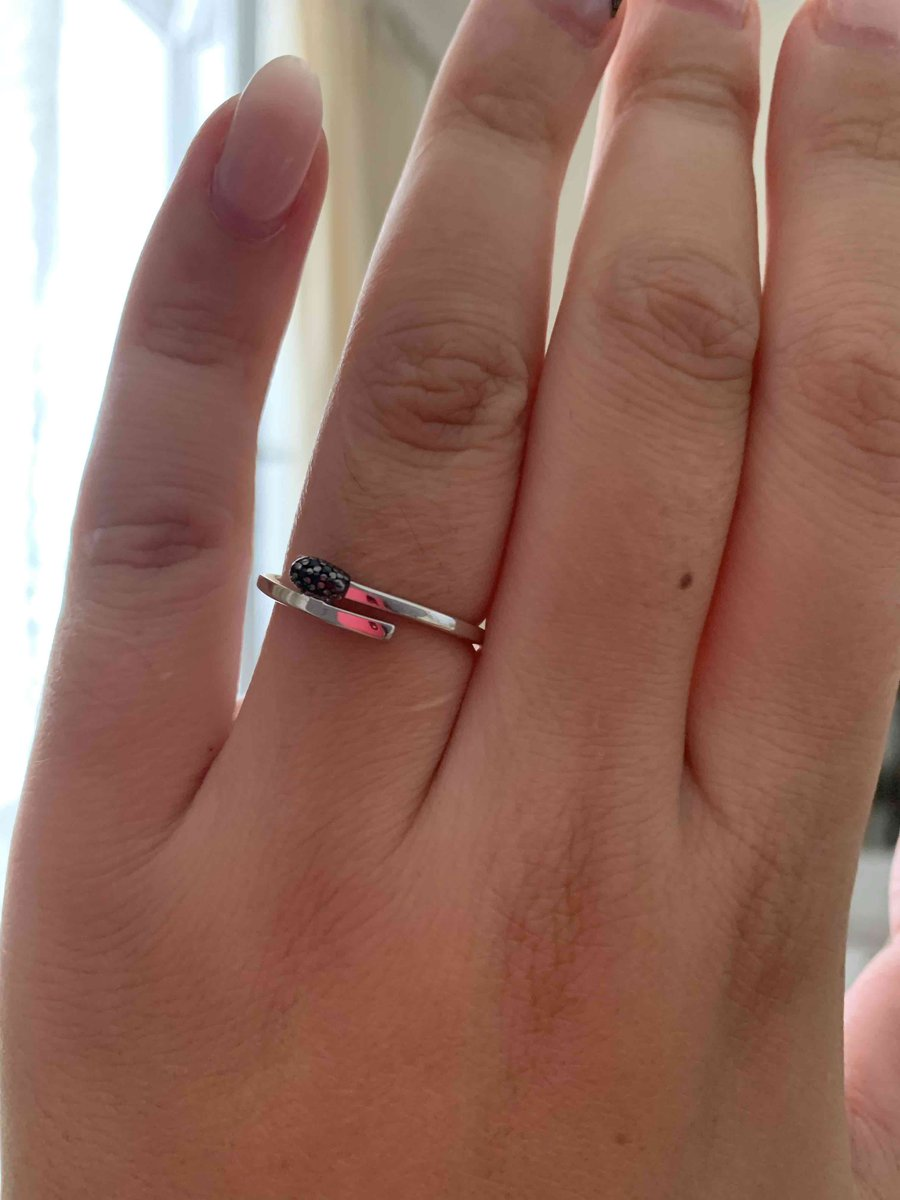 Давно хотела такое кольцо