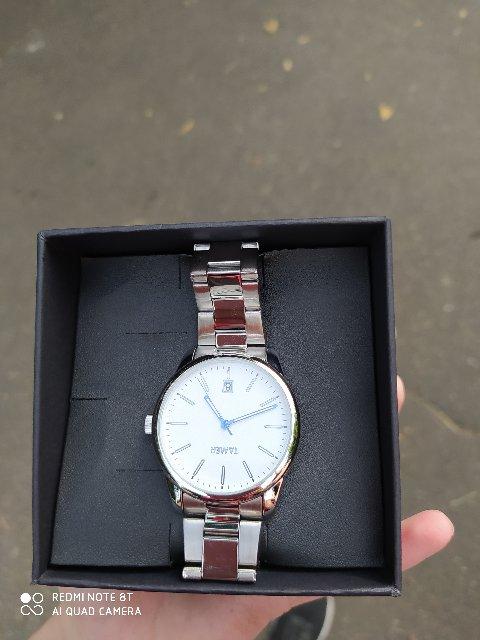 Классные часы, муж в восторге,персонал магазина помог определиться с выборо