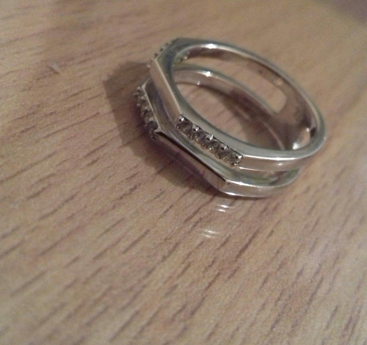 Кольцо с гранями