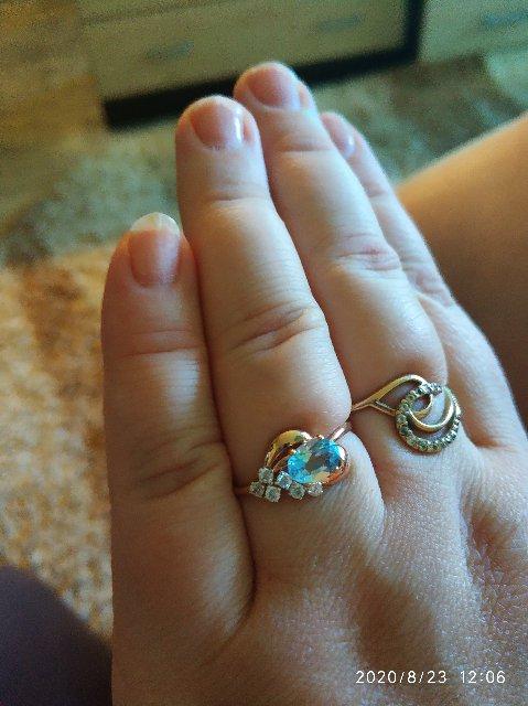 Влюбилась в это кольцо.