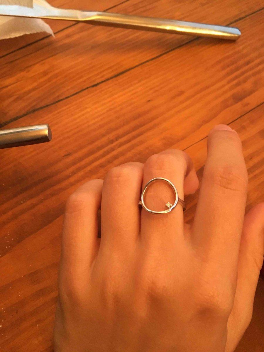 Купила кольцо.