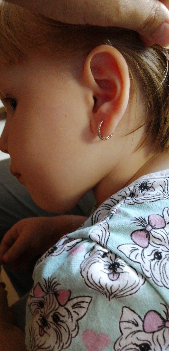 Красивые сережечки для дочки