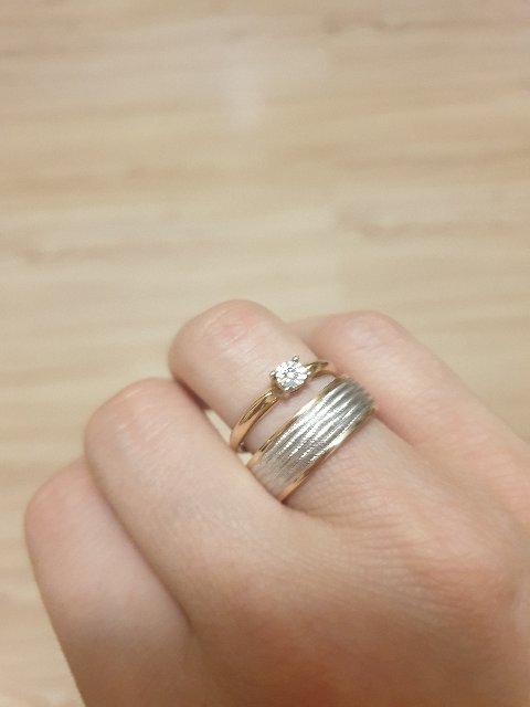 Шикарное обручальное кольцо