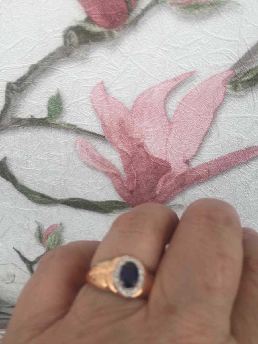 Оченьпонравилось кольцо, продавец терпеливо обслуживала и советовала