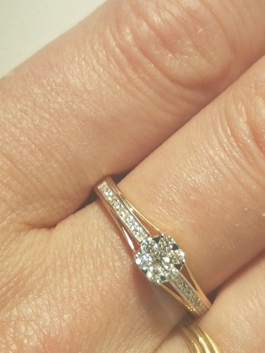 Купила кольцо неделю назад, прищло в целости