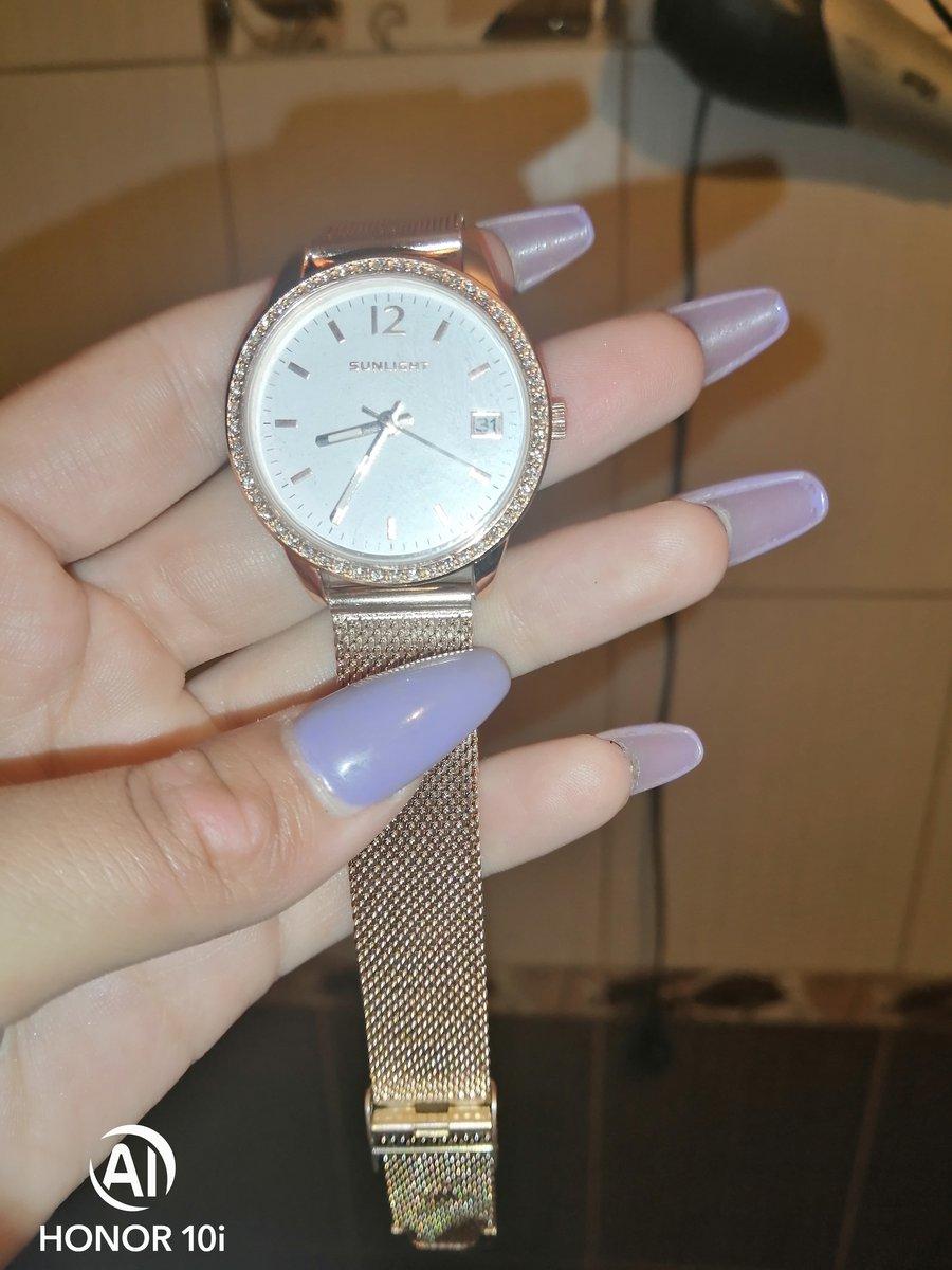 Часы отличные, я влюбилась 😻